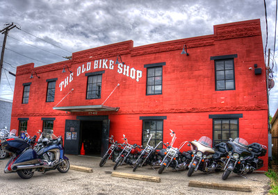 Old Bike Shop 2015