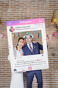 BODA - Photocall Esther & Gerardo
