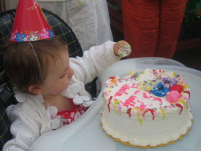 Dania's 1st b-day party: 05/20/06