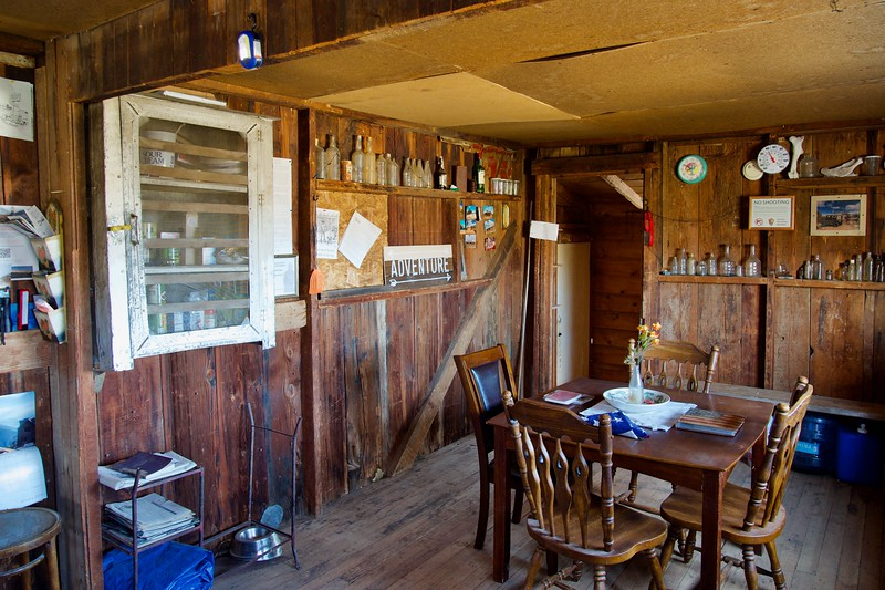 Riley cabin interior