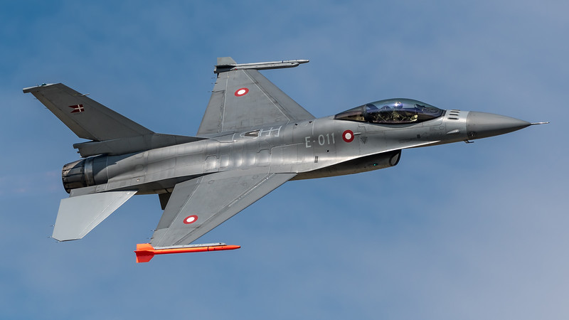 RDAF ESK727 / Lockheed F-16A-20 MLU Fighting Falcon / E-011