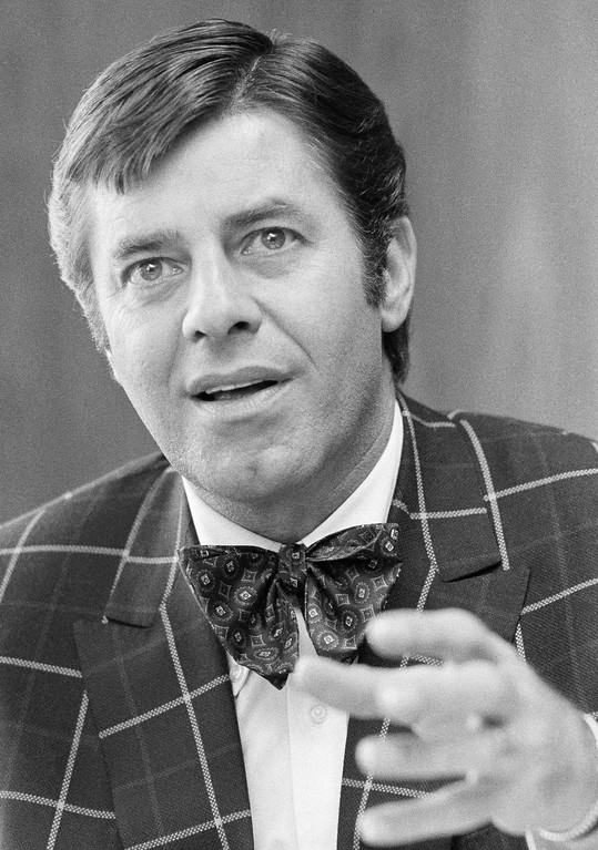 . Jerry Lewis, the comedian, shown in June 6, 1973.  (AP Photo/Jerry Mosey)