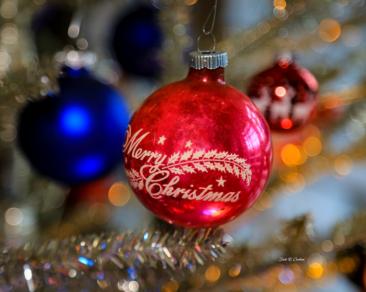 Shiny Brite Merry Christmas