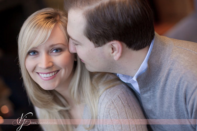 Paul and Courtney Engagement Session - Vermont - March 2011