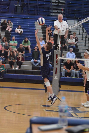 OE Soph boys volleyball Vs Plainfield Central 2018