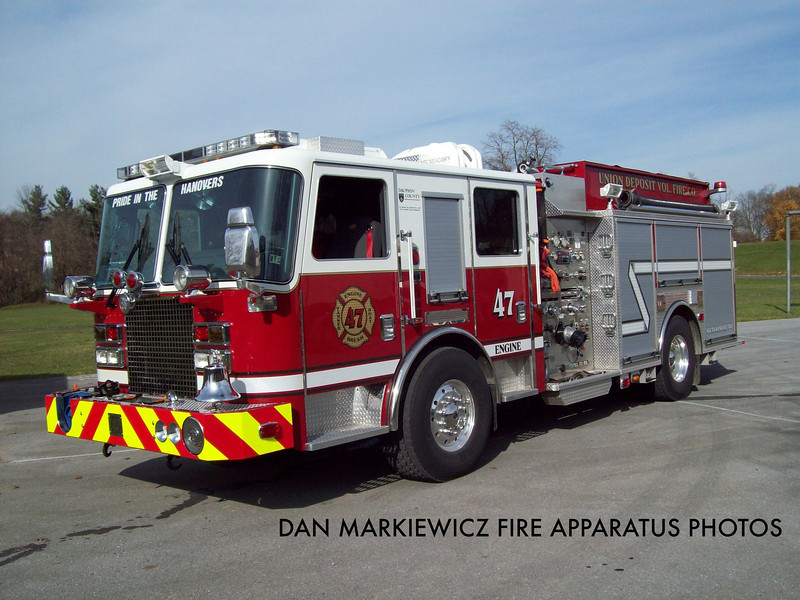 UNION DEPOSIT FIRE CO. ENGINE 47 2011 KME PUMPER