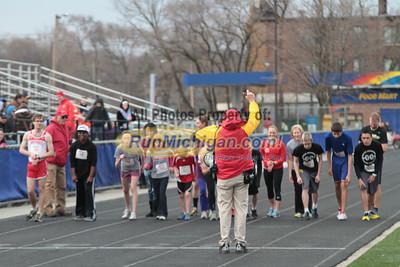 1 Mile Open - 2013 Oakland vs Detroit Track Meet