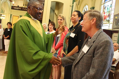 Father Jacques Chavannes Installation