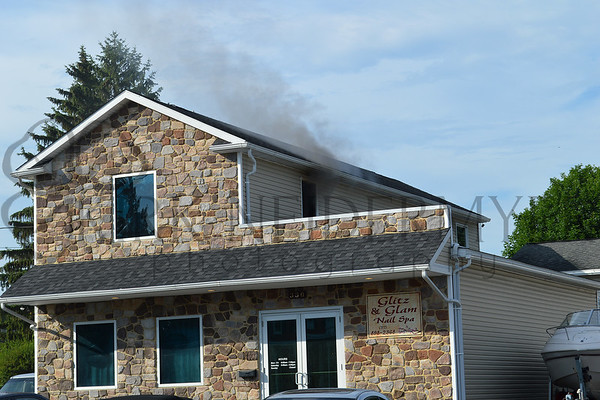 06.16.15 East Hempfield Working Building Fire
