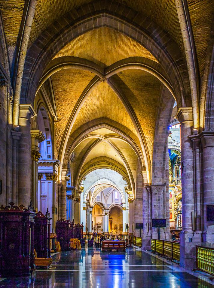 西班牙巴伦西亚主教堂,细细欣赏
