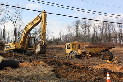 Updated Construction Work, PPL Substation, SR54, Lansford (2-28-2013)