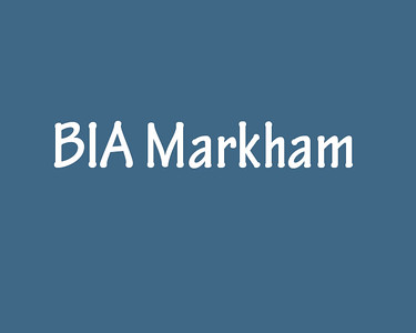 Markham BIA Events