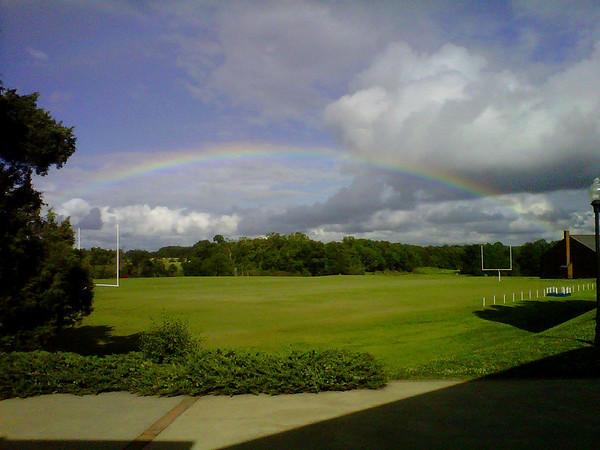 Rainbow over FUMA