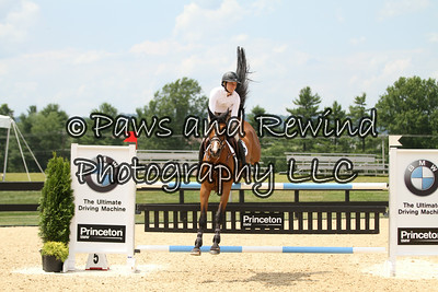 Wednesday Ring I: 7/8yr Old USEF Young Jumper