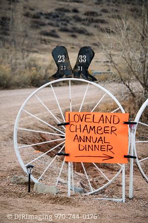 """Loveland Chamber Annual Dinner """"Denim and Diamonds"""" - Ellis Ranch - 1/19/2018"""