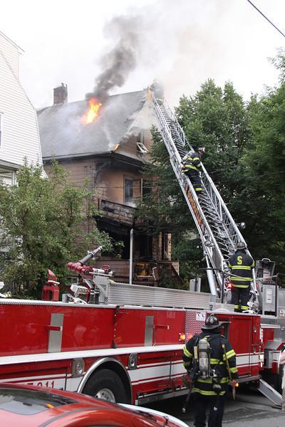 Somerville, MA - 3rd Alarm, 111 Glenwood Road, 6-27-10
