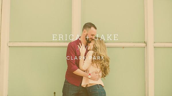 ERICA + JAKE ////// CLARK PARK