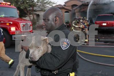 Garage fire 41300 w Thornberry 5-15-2014