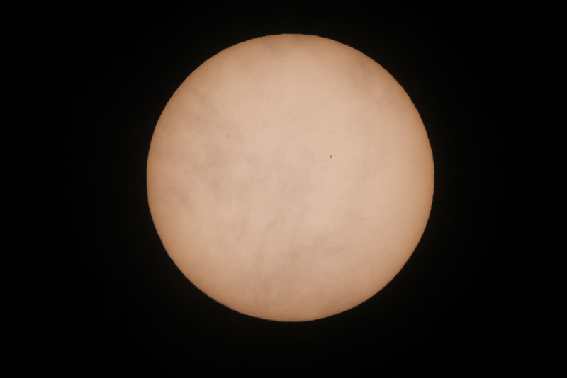 Sun - 26/11/2017 (Single unprocessed Image)