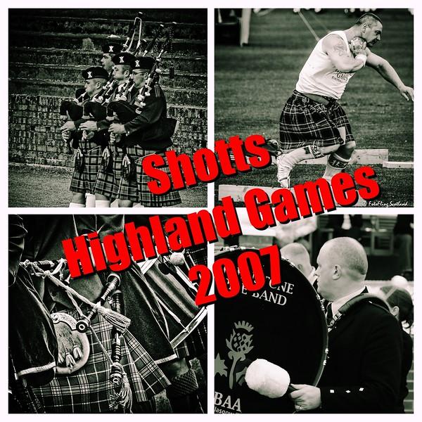The 2007 Shotts Highland Games