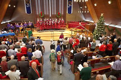 Mountain View UMC 12-16-2012 10:30 Service - Mountain View SINGS!