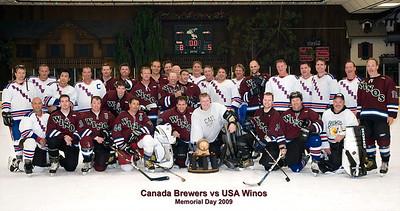 US-Canada Winos vs Brewers