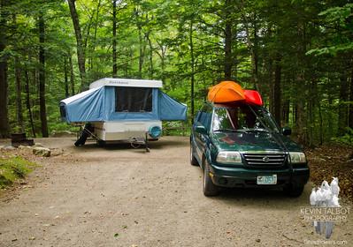 Basin Campground/Evans Notch 9/10-13/12