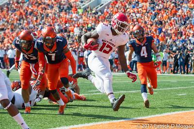Rutgers v Illinois 10-14-2017