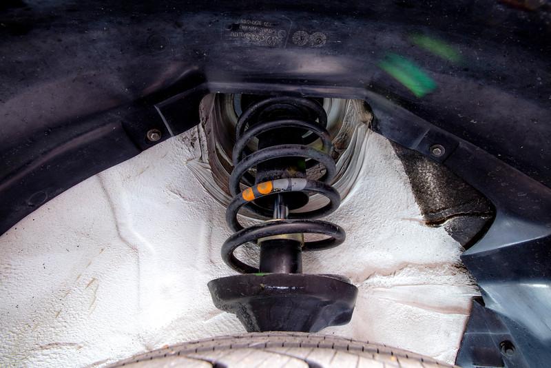 All-Original 1989 VW Jetta Coupe Strut