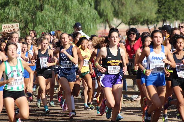 2017 Mt SAC Girls D1&D2 Team Sweepstakes-Race 38