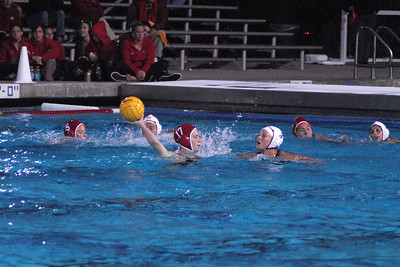 UCI Women's Water Polo Tournament 2010 - Championship Game - University of Southern California vs Stanford University 2/28/10. First Place USC vs SU. Final score 10 to 5. Photos by Allen Lorentzen.