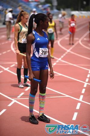 Class 3A - Running Event Finals - Girls 4X800m Relay Finals - Section 1
