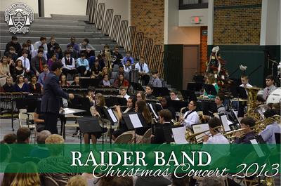 Raider Band Christmas Concert 2013