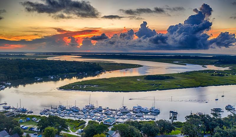 Bluff Aerial Sunrise.jpg