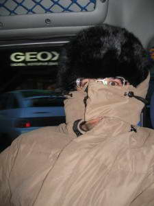 It was really cold in Russia! (2004).