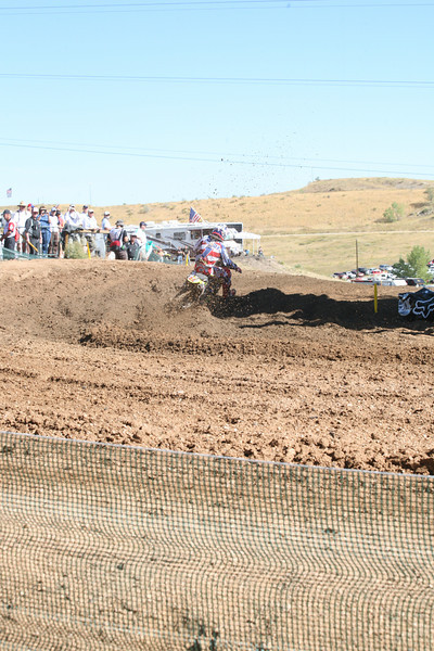 Dungey railing the first turn