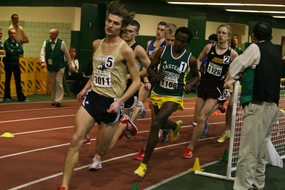 Men's 5000 Meters - 2013 MAC Indoor Meet