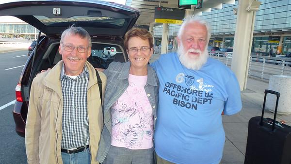 Hagbard og Ole's Visit to Canada 2013