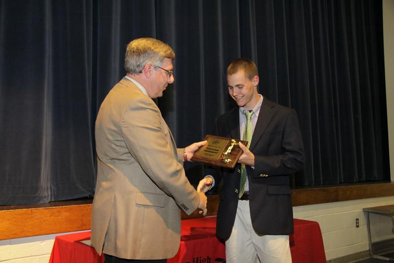Awards Night 2012 - Robert Luecke Memorial Christian Sportsmanship Award