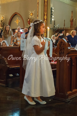 Holy Communion and Fatima Procession - 2017