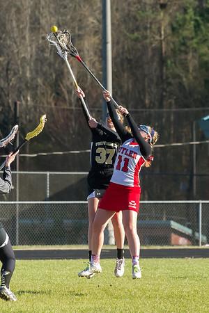 2014-03-13 BHS Women's Lacrosse VS Providence