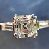 1.17ct Asscher Cut Diamond Tacori Solitaire, GIA G, VS2 12
