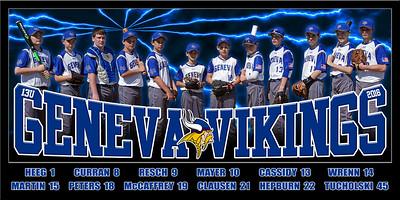 2016 13U Geneva Baseball Curran