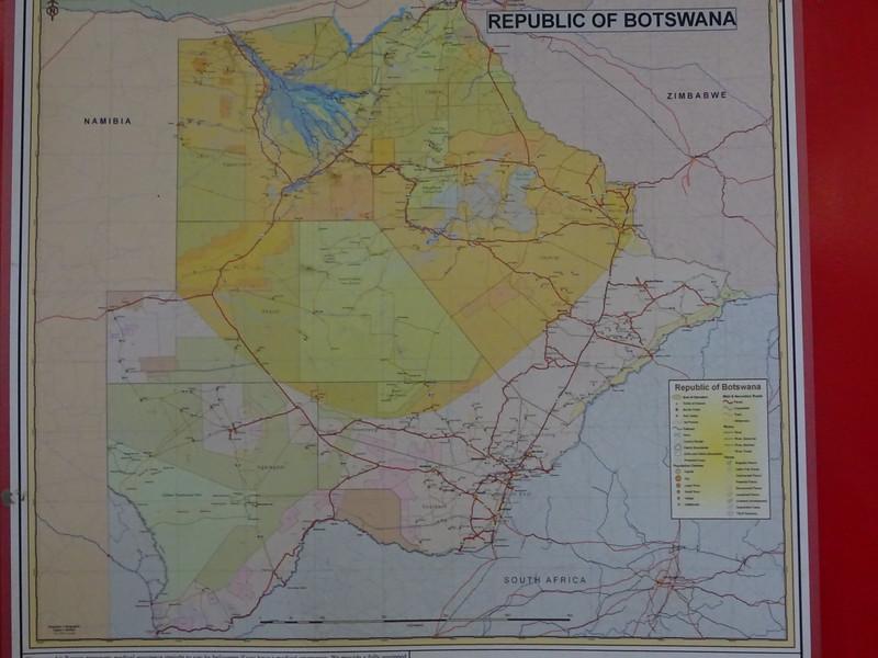 001_Republic of Botswana. 1966. A Landlocked country of Southern Africa. Population 2 M. Kalahari Desert covers 85% of territory.JPG
