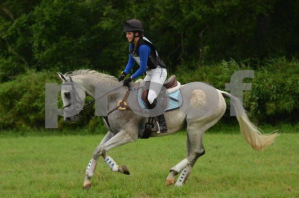 Abby  Hamblin and Silver Flash #9
