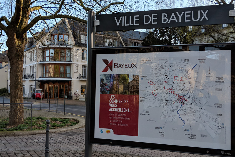 Spent four nights in Bayeux