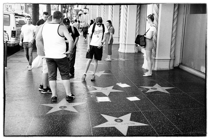 Hollywood Walk of Fame Photowalk