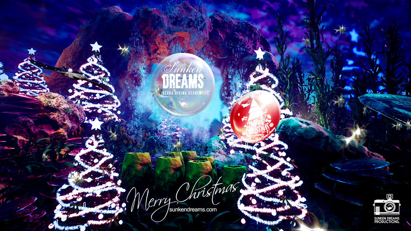 Happy Christmas from Sunken Dreams Scuba Diving Academy