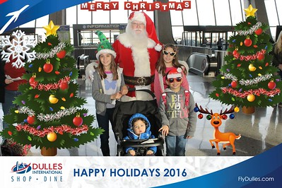Dulles Shopping & Dining: Happy Holidays 2016 - Day 3
