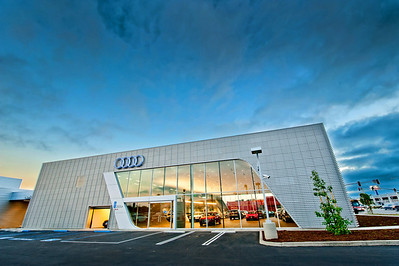 Audi Pacific architectural photography November 2012